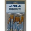 Kist set Academy akril 10x