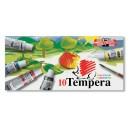 Tempera set KIN 10x16ml
